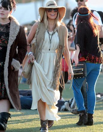 Ферджи (Fergie) на музыкальном фестивале Coachella 2012
