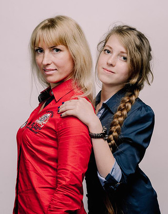 """Юлия и Каролина Щербинины, Шоу """"Два голоса"""""""
