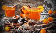 Горячее «золото» – апельсиновый коктейль с ликёром Amaretto
