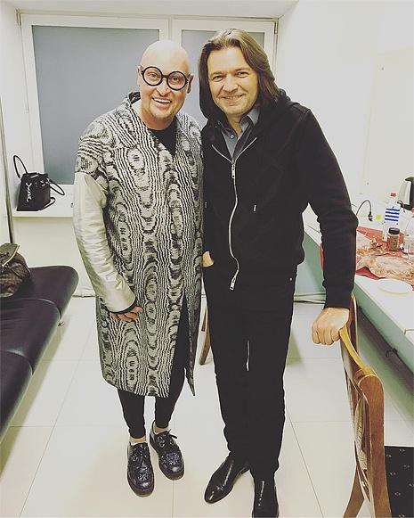Дмитрий Маликов и Шура в Екатеринбурге, фото