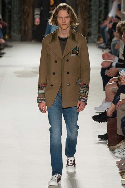 Неделя мужской моды в Париже: лучшие показы | галерея [1] фото [19]