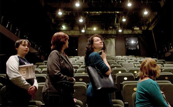 молодежный театр ростов, Ночь в театре. Закулисье