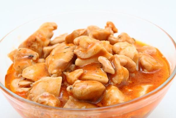 Рецепт куры с грибами