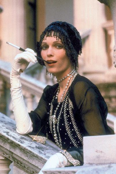 Миа Фэрроу в фильме «Великий Гэтсби», 1974.