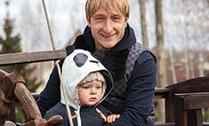 Папина смена: Плющенко поставил сына на коньки