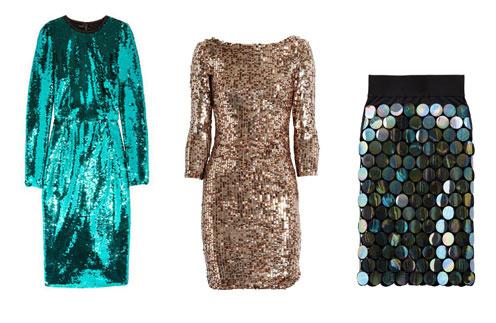 Слева направо: платье Dolce & Gabbana, платье Alice + Olivia, юбка Marc Jacobs