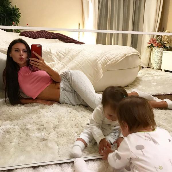 Оксана Самойлова, дети