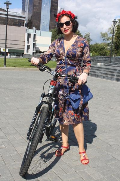 Велосипедисты девушки фото
