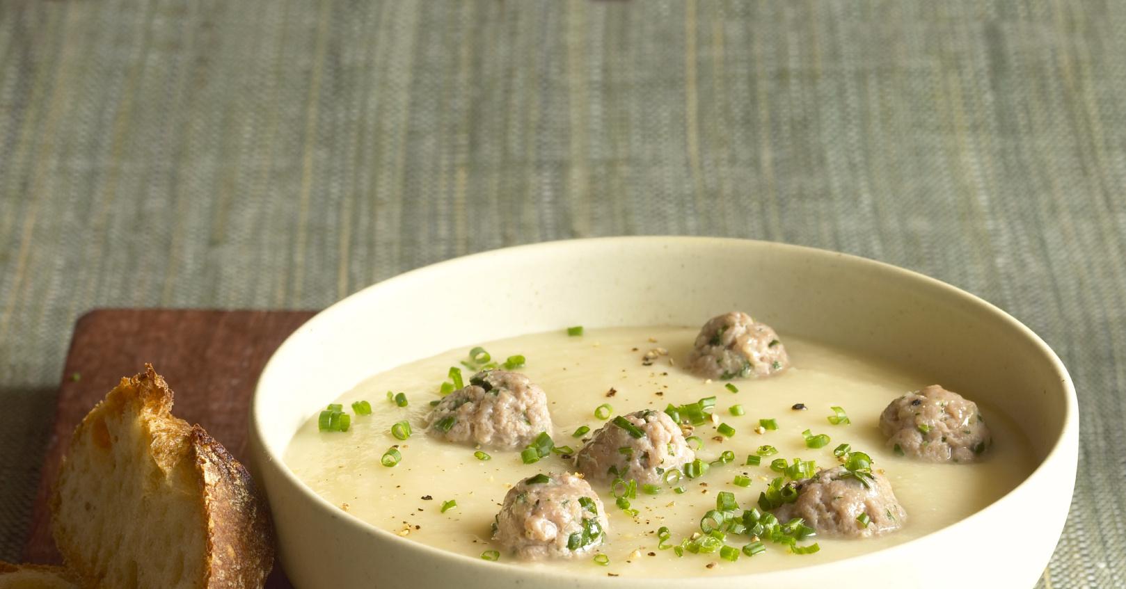 Суп с фрикадельками и вермишелью (пошаговый рецепт)