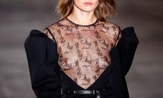 10 самых неприличных «голых» платьев на Неделе моды в Париже