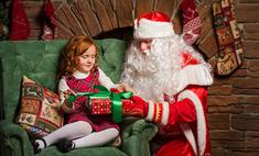 Волгоградки подарят теплое одеяло на день рождения Деду Морозу