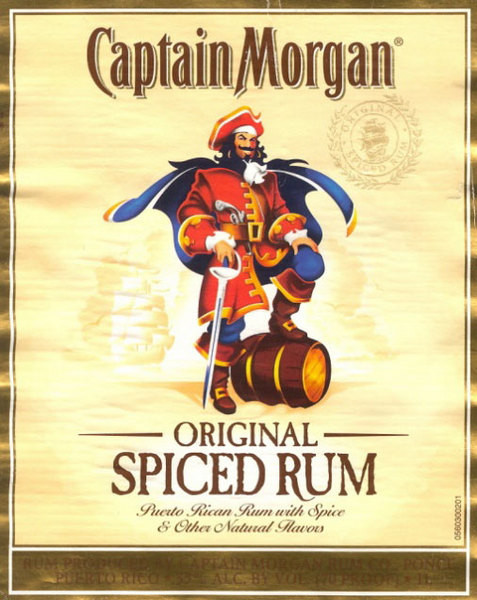Ром Captain Morgan.