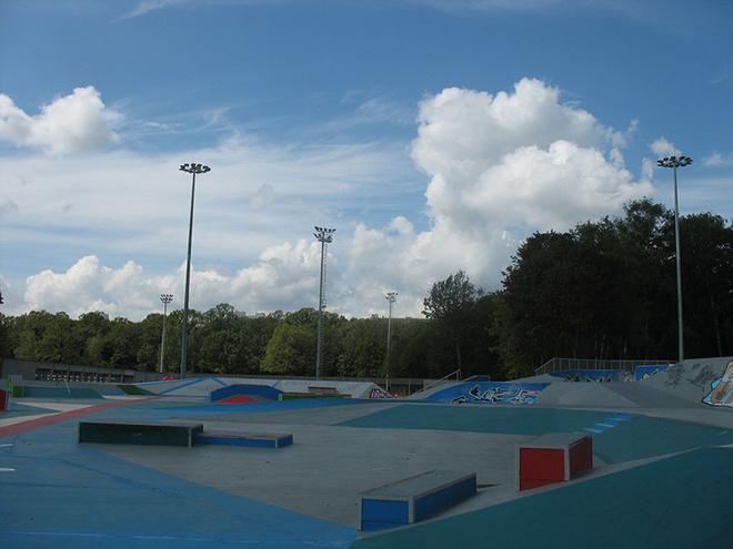 Скейтпарк в Останкино фото