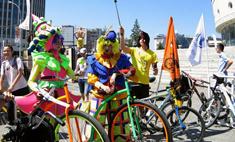 В Новосибирске прошел велокарнавал! Видео