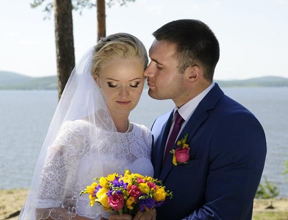 Татьяна и Сергей Шукшины, свадьба