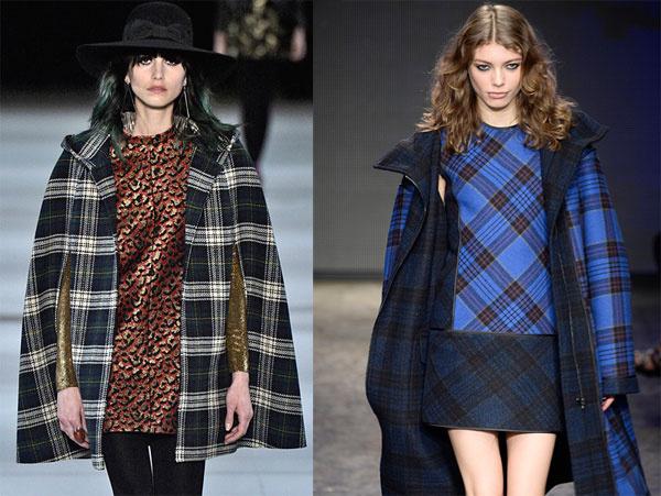 Saint Laurent и DKNY, осень-зима – 2014