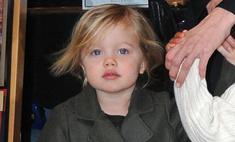 Анджелина Джоли подарила дочери мертвую птичку