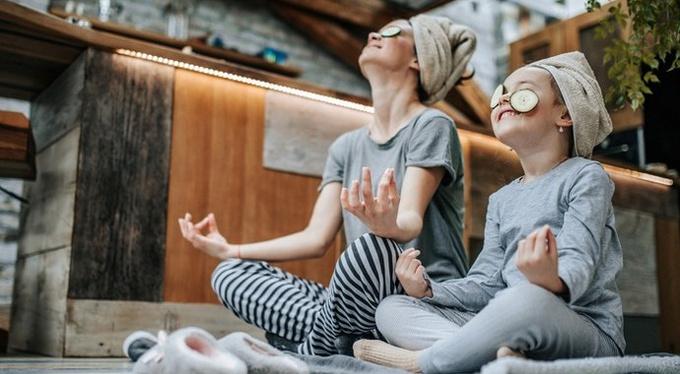 Парная йога мастер класс