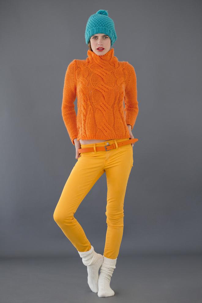 брюки горчичного цвета с чем носить