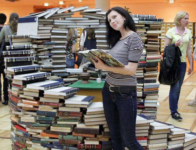 Волгоград, библиотека Горького, Библиодень, горьковка, библионочь, книги, куда пойти всей семьей