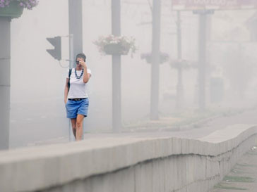 смог в Москве, экологическая катастрофа