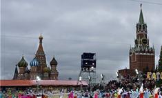 На Красной площади обрушились конструкции катка