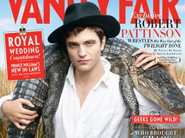 Роберт Паттинсон (Robert Pattinson) сфотографировался с крокодилом