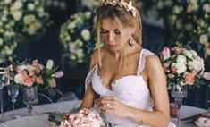 Брежнева показала самое сексуальное свадебное платье