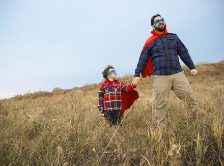 В погоне за супергероем: отец-интроверт о сыне-экстраверте