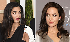 Страсти накаляются: Джоли игнорирует Амаль Аламуддин