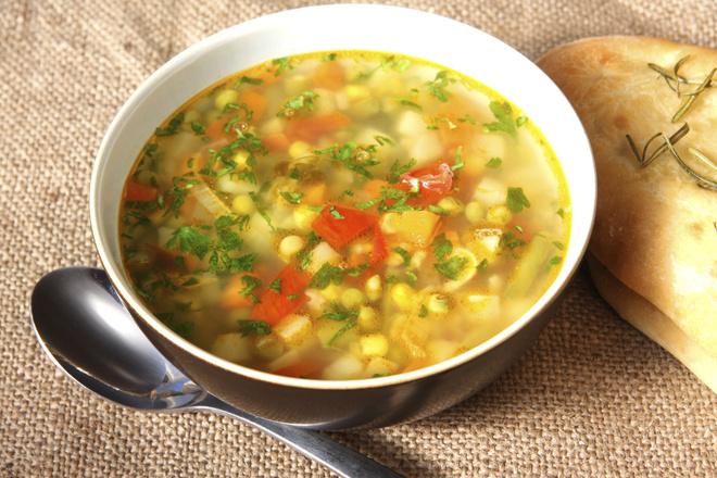 суп с кукурузой консервированной и капустой рецепт с фото