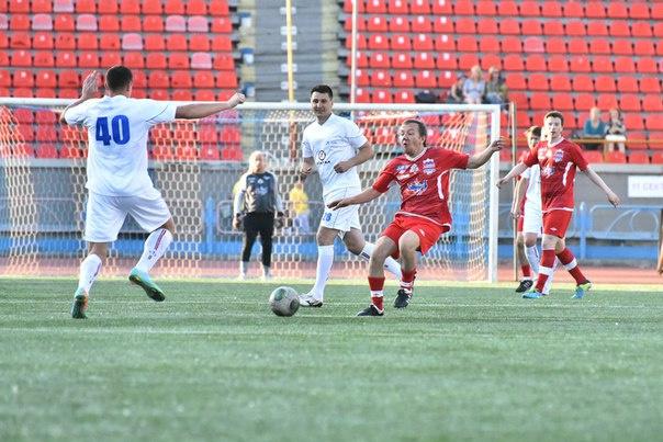 Футбол-шоу в Новосибирске