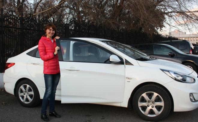 Омск, автомобили, женщины за рулем, автоледи