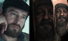 Волгоградец сделал татуировку с портретом Константина Хабенского