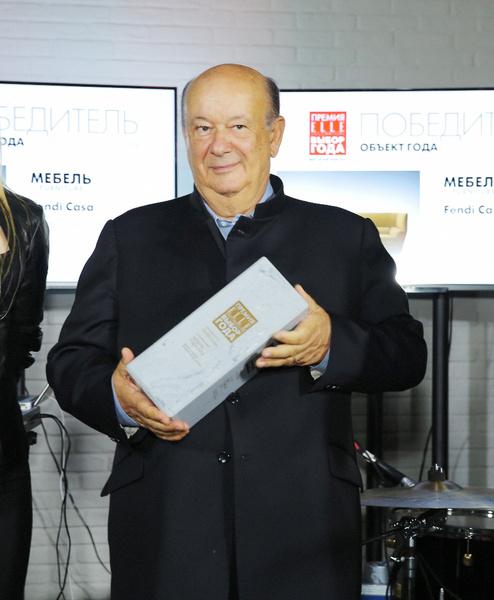 Альберто Виньятелли, глава компании Fendi Casa
