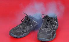 Неприятный запах из ботинок: способы удаления