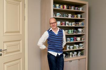 «Коллекция чашек — это конспект моей жизни»