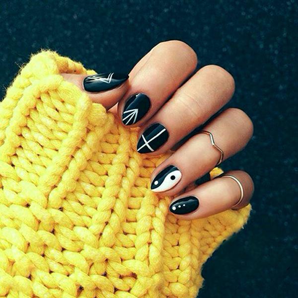 Маникюр в СПб недорого, маникюр 2015 модные тенденции фото короткие ногти шеллак френч