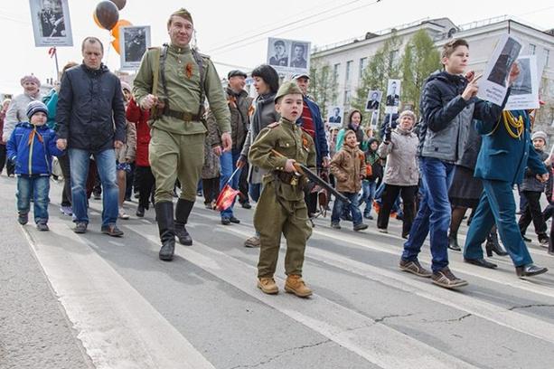 День Победы в Перми