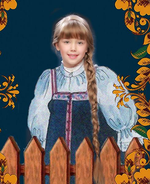 Анжелика Фанграт, «Уральская краса – русская коса», фото