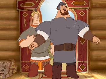 Кадр из фильма «Три богатыря и Шамаханская царица»