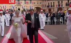 В Монако проходит церемония венчания князя Альбера и княгини Шарлен