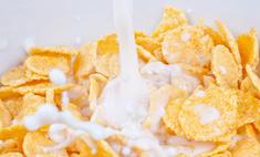 Сухие завтраки опасны для детей