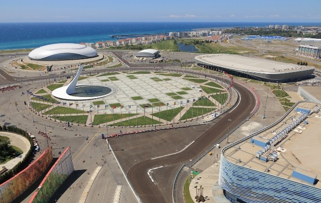 Трасса Формулы-1 в Сочи, Олимпийский парк