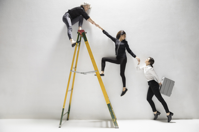 The Broken Ladder: Gender Barriers at the First Steps of a Career