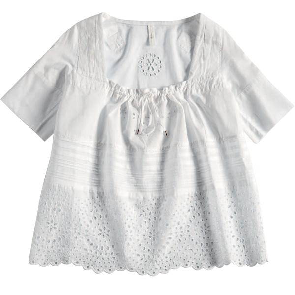 Блузка из батиста, High