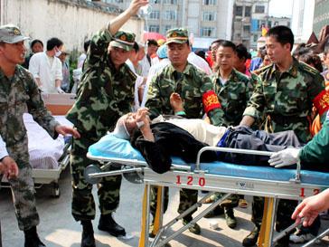 В Китае произошло стихийное бедствие