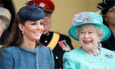 Кейт Миддлтон и Елизавета II готовятся к приему