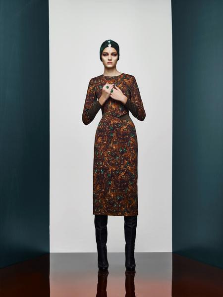 Хозяйка Медной горы: новая pre-fall коллекция A LA RUSSE Anastasia Romantsova   галерея [2] фото [5]