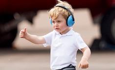 Милота дня: принц Джордж на авиашоу